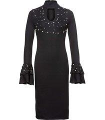 abito con perle (nero) - bodyflirt boutique