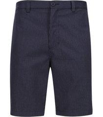 bermuda hombre gris lineas verticales color gris, talla 30