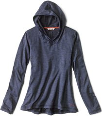 performance knit hoodie