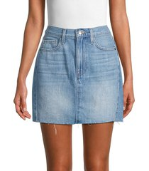 frame women's le mini skirt - olivio - size 28 (4-6)