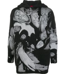 424 x wu tang oversized hoodie - black