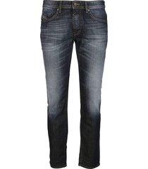 indigo blue cotton jeans