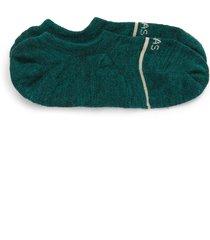 men's bombas merino wool blend no-show socks, size large - green