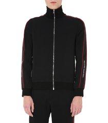 alexander mcqueen sweatshirt with zip