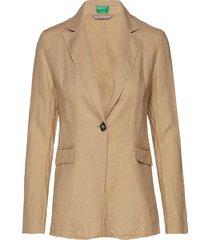 jacket blazer kavaj beige united colors of benetton