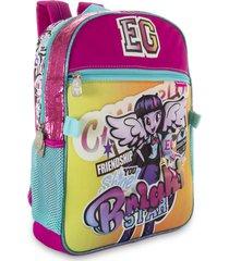 mochila equestria rosado para mujer croydon