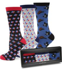men's texas strong socks gift set, pack of 3
