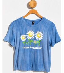 sunflower come together tee - chambray