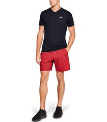 camiseta de hombre para correr under armour ua streaker 2.0 v-neck shortsleeve