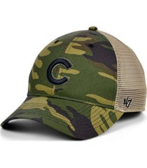 '47 brand chicago cubs camo branson mvp cap