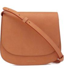 mansur gavriel leather shoulder bag