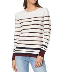 sweater con diseño de rayas crudo esprit