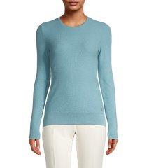 loro piana women's cashmere sweater - spring blue - size 38 (4)