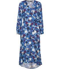 dress maxiklänning festklänning blå marc o'polo