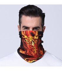 protezione solare esterna multifunzionale delle donne degli uomini maschera fascia elastica soft respirabile