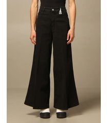 cycle pants wide high-waisted cycle pants