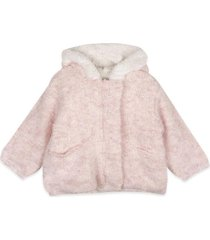 chaqueta bebe niña rosado  pillin