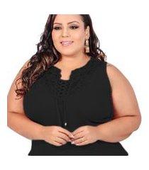blusa plus size feminina