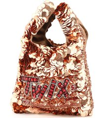 anya hindmarch anya brands twix sequins mini tote bag