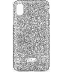 custodia smartphone con bordi protettivi high, iphoneâ® xs max, tono argentato