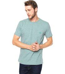 camiseta polo wear comfort verde - verde - masculino - algodã£o - dafiti