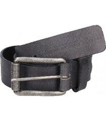 cinturón cuero liso con perforaciones gris panama jack