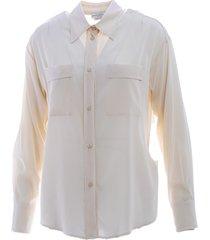 ballantyne ballantyne silk blend shirt