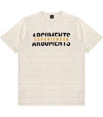 camiseta masculina adulto rovitex bege