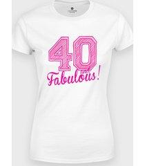 koszulka 40 and fabulous