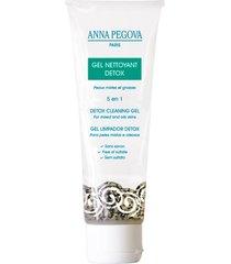 gel limpador facial anna pegova - nettoyante detox 100ml