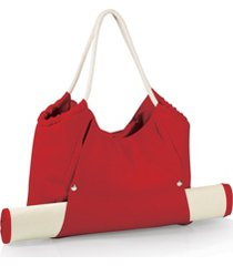 oniva by picnic time cabo red beach tote with mat