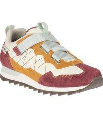 zapatilla alpine sneaker cross dorado merrell