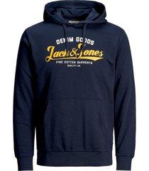 hoodie jack & jones plus size donkerblauw