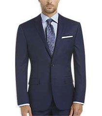 joe joseph abboud blue slim fit survival suit