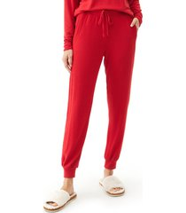 michael stars drawstring pull-on pants, size x-large in grenadine at nordstrom