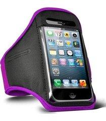 braçadeira armband bolsa esportiva de braço para eletrônicos e celulares