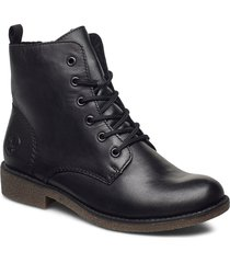 76742-00 shoes boots ankle boots ankle boot - flat svart rieker