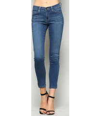 flying monkey mid rise xtra lycra super soft ankle skinny jeans