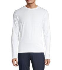 pga tour men's solar block long-sleeve t-shirt - caviar - size l