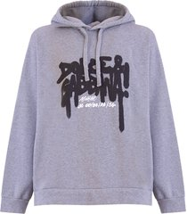 dolce & gabbana jersey hoodie with print