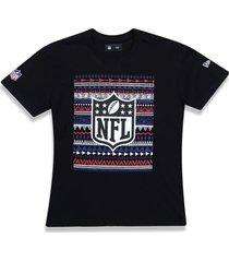 camiseta new era regular nfl preto