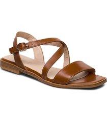 a-1406 shoes summer shoes flat sandals brun wonders