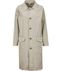 aspesi buttoned classic coat