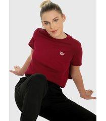 camiseta morado-blanco adidas originals power berry