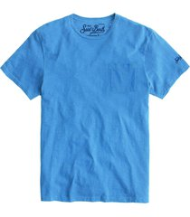 bluette flamed cotton t-shirt with front pocket