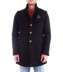 at.p.co a193fabian72l009 overcoat men blue