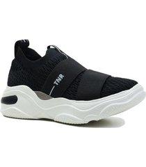 dad sneaker casual tamara sem cadarço feminino - feminino