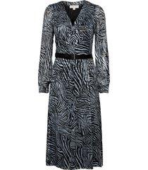 zebra kate drs dresses everyday dresses blå michael kors