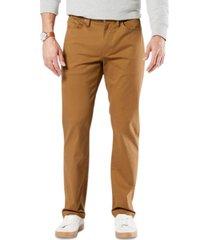 dockers men's jean-cut supreme flex straight fit pants, created for macy's