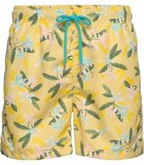 lemon flowers swim shorts cf badshorts gul gant